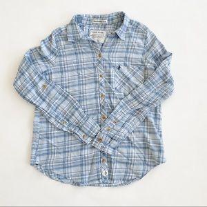 Abercrombie & Fitch Plaid Button Up Shirt